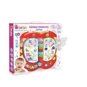Zabawka Edukacyjna BamBam Jabłko