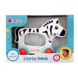 Zebra na kółkach BamBam