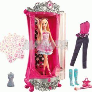Magiczna brokatowa szafa Barbie