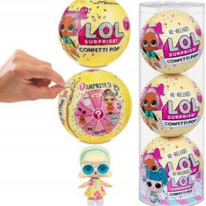 Laleczki L.O.L. Surprise Confetti Pop 3 szt.