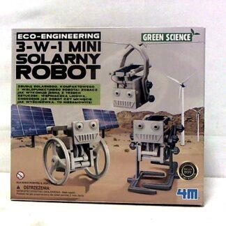 3 w 1 mini robot solarny