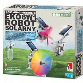 6 w 1 eko robot solarny