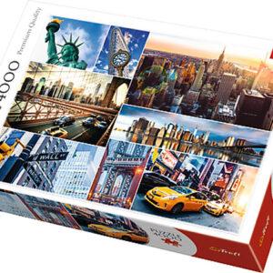 Puzzle 4000 Nowy Jork - kolaż